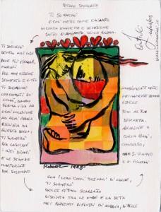Colour&Word - des dessins de l'artistes Kurde Rebwar Saeed et de textes de dizaines d'écrivains  à travers le onde