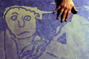 Contes en Corps - Histoires en peintures, sable et paroles - Jeu de Plage - d'après un conte de Philippe Dorin