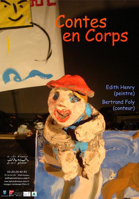 Affiche Contes en Corps