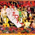 Rencontre d'une peinture de Jamal Musher et de Que d'histoires ! - interprétation de Edith Henry pour La Pluie d'Oiseaux