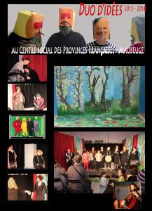 Artistes-Habitants, Maubeuge, DuoDidees, enfants adultes, théâtre, écriture, arts palstiques, musique, éducation populaire, Antigone, l'avare
