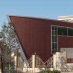 Crossing Museum - Musée des Arts contemporains de Soulaimany - vue de l'extérieur - la pointe du la grande salle